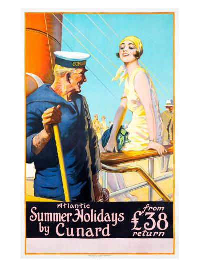 Atlantic Summer Holidays--Giclee Print