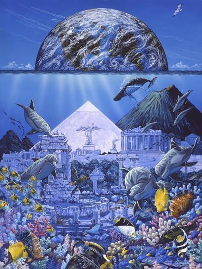 Atlantis Rising-Apollo-Giclee Print