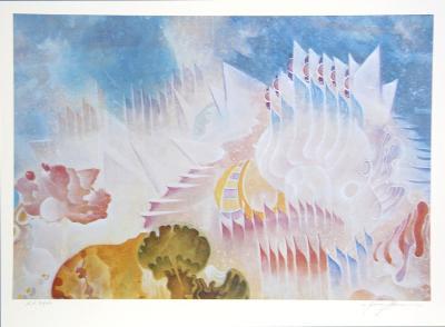Atlantis-Isaac Abrams-Collectable Print