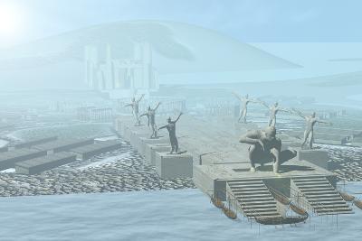Atlantis-Christian Darkin-Photographic Print