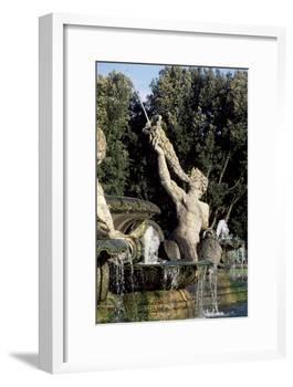Atlas Fountain-John Thomas-Framed Giclee Print