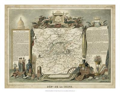 Atlas Nationale Illustre I-Victor Levasseur-Giclee Print