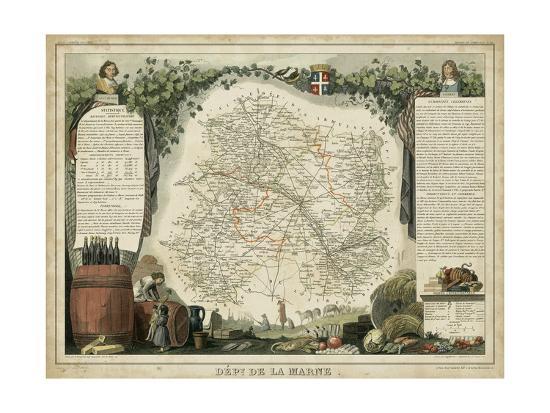 Atlas Nationale Illustre IV-Victor Levasseur-Art Print