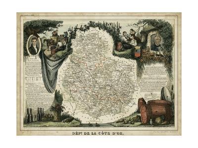 Atlas Nationale Illustre IX-Victor Levasseur-Art Print