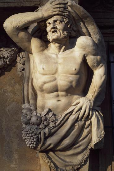 Atlas-Jean-Claude Rambot-Giclee Print