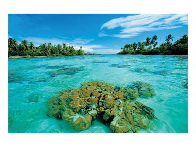 Atoll Island--Art Print