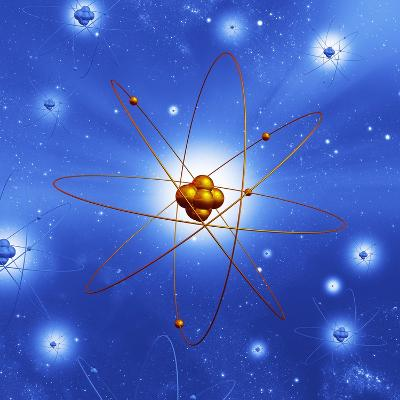 Atomic Structure, Artwork-Mehau Kulyk-Photographic Print