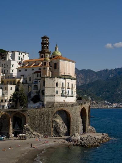 Atrani, Amalfi Coast, UNESCO World Heritage Site, Campania, Italy, Europe-Charles Bowman-Photographic Print
