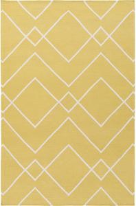 "Atrium Area Rug - Gold/Ivory 5' x 7'6"""