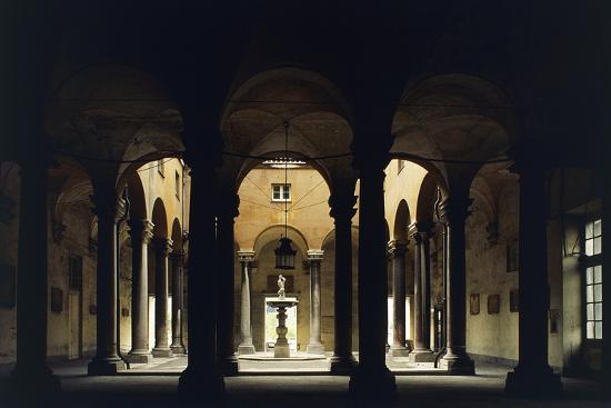 Atrium of the Doge's Palace, Genoa, Liguria, Italy--Giclee Print