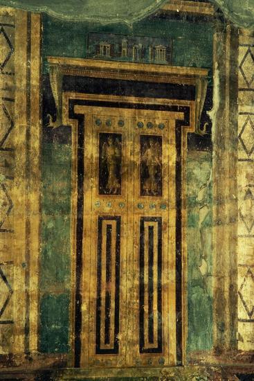 Atrium with Trompe L'Oeil, Villa Poppaea, Archaeological Area of Oplonti, Torre Annunziata--Photographic Print
