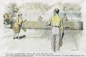 Tennis, 1931 by Atsmith