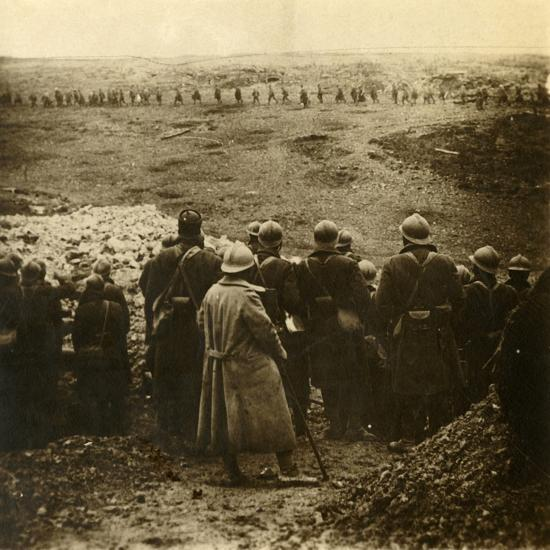 Attack at Douaumont, northern France, December 1916-Unknown-Photographic Print