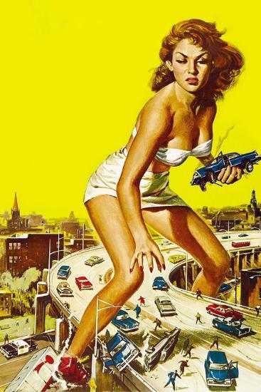 Attack of the 50 Foot Woman, 1958--Giclee Print