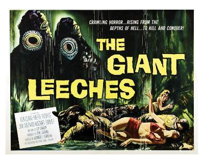 Attack Of The Giant Leeches - 1959 I--Giclee Print