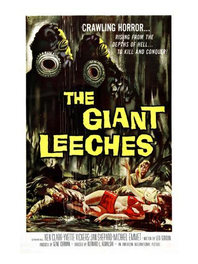 Attack of the Giant Leeches (aka the Giant Leeches), 1959--Photo