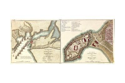 Attack on Geriah Pirate Fort South of Bombay, India by Admiral Watson, 1756--Giclee Print