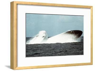 Attack Submarine Birmingham Conducting an Emergency Surfacing, Nov. 19, 1978