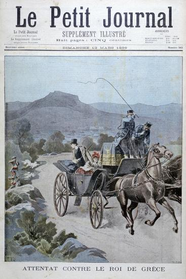 Attempted Attack on the King of Greece, 1898-Henri Meyer-Giclee Print