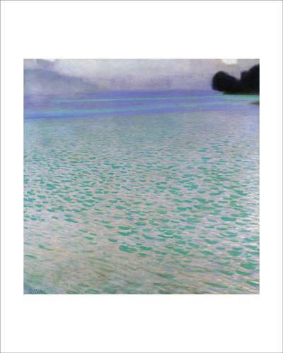 Attersee-Gustav Klimt-Giclee Print