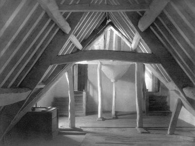 Attic of Kelmscott Manor-Frederick Henry Evans-Photographic Print