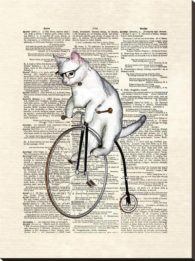 Atticus-Matt Dinniman-Stretched Canvas Print