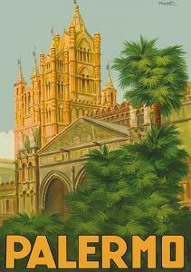 Palermo, Sicily, Italy - Duomo (Cathedral) by Attilio Ravaglia