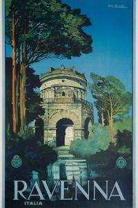 Ravenna Poster by Attilio Ravaglia