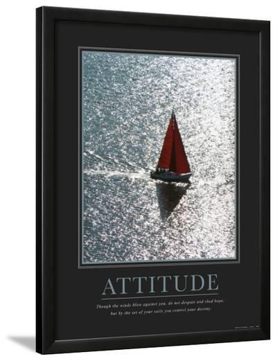 Attitude: Sailing--Lamina Framed Art Print