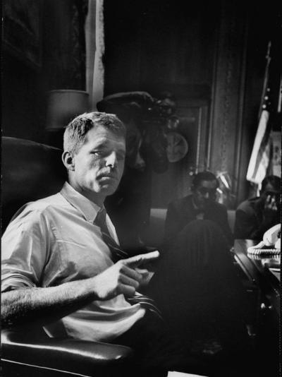 Attorney General Robert F. Kennedy-Ed Clark-Photographic Print