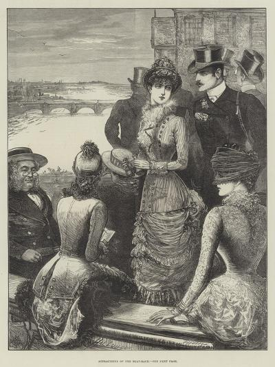 Attractions of the Boat-Race-Henry Stephen Ludlow-Giclee Print
