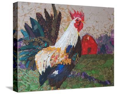 Au Chant Du Coq--Stretched Canvas Print