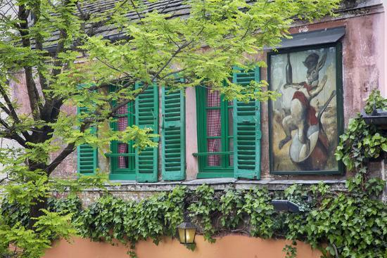 Au Lapin Agile, a Tiny Cabaret, Montmartre, Paris, France-Brian Jannsen-Photographic Print