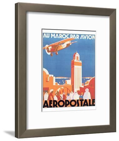 Au Maroc Par Avion, Aeropostale