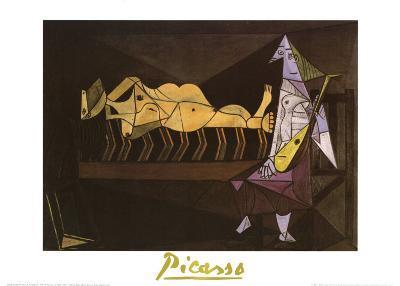 Aubade, c.1942-Pablo Picasso-Art Print