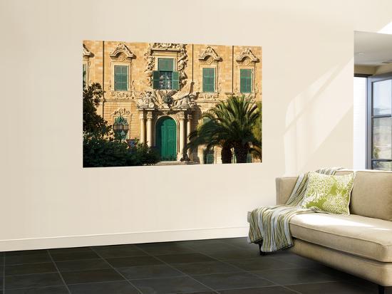 Auberge De Castille Valletta Malta, Offices of the Prime Minister-Jean-pierre Lescourret-Wall Mural