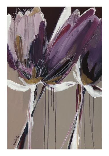 Aubergine Splendor II-Angela Maritz-Art Print