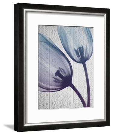 Aubergine Textiles 2-Albert Koetsier-Framed Art Print