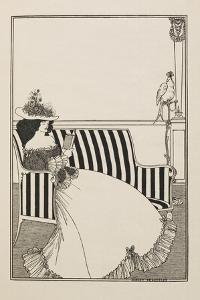 A Catalogue Cover by Aubrey Beardsley