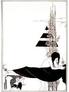 A Platonic Lament, Plate VII, 19th Century by Aubrey Beardsley