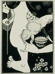 Birth from the Calf of the Leg, 19th Century by Aubrey Beardsley