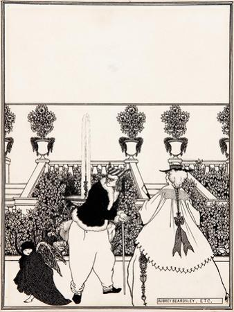 Cover Design for the Savoy, 1896 by Aubrey Beardsley