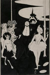 Design for the Frontispiece to John Davidson's Plays by Aubrey Beardsley