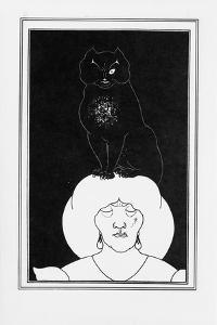 Illustration for the Story the Black Cat by Edgar Allan Poe, 1894-1895 by Aubrey Beardsley