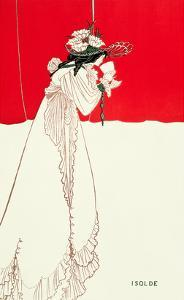 Isolde, 1895 by Aubrey Beardsley