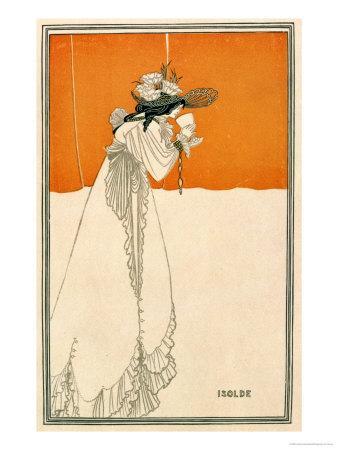 "Isolde, Illustration from ""The Studio,"" 1895"