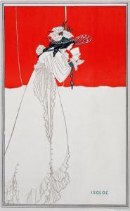 Isolde, Illustration from The Studio, 1895 by Aubrey Beardsley