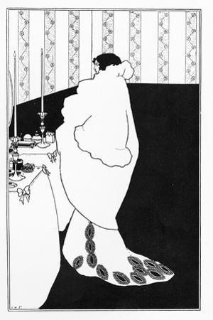 La Dame Aux Camelias, Illustration from 'The Yellow Book', 1894 by Aubrey Beardsley