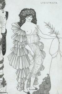 Lysistrata Her Coynte, 19th Century by Aubrey Beardsley