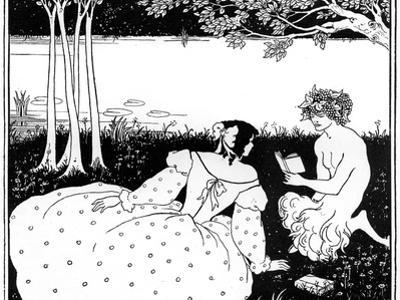 Pan Reading to a Woman by a Brook, 1898